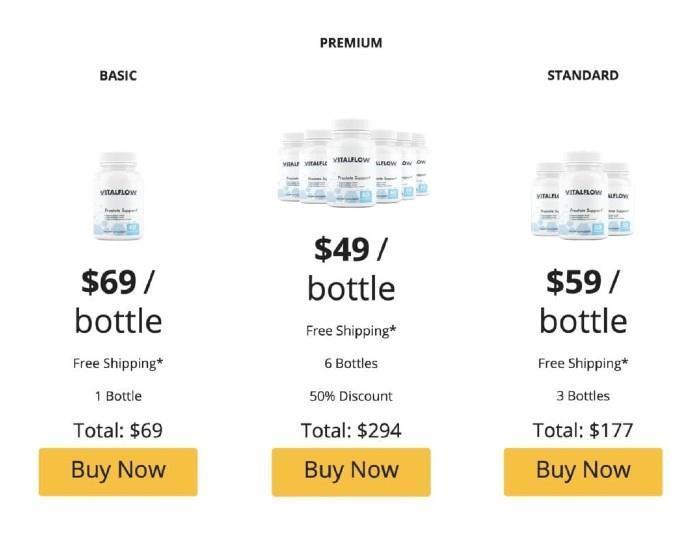 VitalFlow price