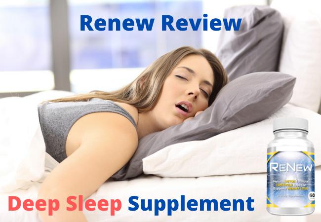 Renew Deep Sleep Supplement
