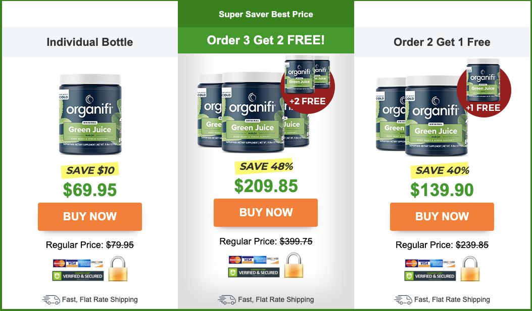 organifi green juice price