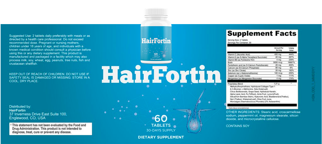 hairfortin ingredients