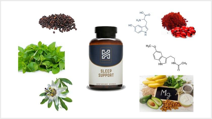 harmonium sleep ingredients
